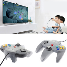 Hot Selling New Style Long Handle Game Controller Pad Vibrations shock Joystick for Nintendo 64 N64 System