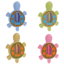 1PC Baby Bath Tub Water Temperature Tester Animal Cartoon Cute Turtle Thermometer(China)