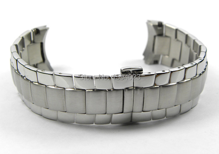 22mm T024417 New Watch Parts Male Solid Stainless steel bracelet strap Watch Bands For T024<br>