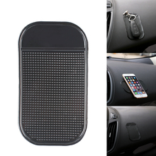 Portable Car Mat Magic Sticky Pad Silicone Antiskid Mat Non Slip Mat for Mobile Phone PDA mp3 mp4 Key Car Accessories(China)