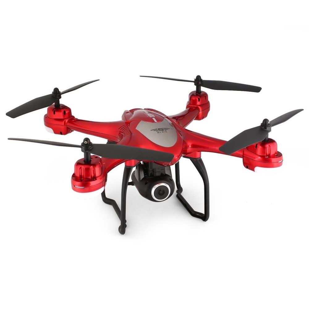 SJ R/C S30W 2.4G Dual GPS Positioning FPV RC Quadcopter Drone with 7P Adjustable Wide Angle Wifi Camera Follow Me Hovering 17