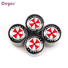 CEYES Auto Car-Styling Car Stickers Emblems Badge Fit For Mazda Umbrella Corporatton Seat Kia VW Toyota Nissan Nismo Car Styling
