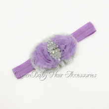 240pcs/lot   Shabby Flower Headbands  Baby Headband   Flowergirl  Hair  Acessory