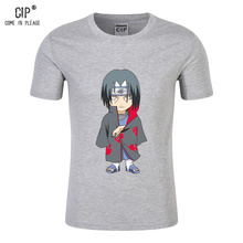 CIP 100% Cotton Naruto Tshirt Boy Casual Children's T shirt Short Sleeves Boys T-shirt Baby Clothing Little Boy Summer Shirt Tee(China)