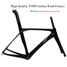 2017 new design light weight road bike frame t1000 carbon road frame with UD matte or glossy FM-R879