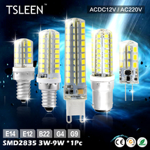 11.11 Big Sale +Cheap+ Highlight G4/G9/E12/E14/B15 2835 SMD 3/3.5/4/5/7/8/9W LED Corn Bulb Lamp Warm Cool White