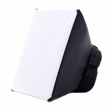 Foldable Lightweight Photo Flashlight Softbox Universal Studio Photographic Flash Light Diffuser Soft Box For Sony For Canon