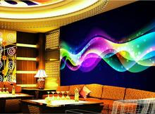 3D room photo wallpaper custom Non-Woven mural HD Curved sky painting wall sticker TV sofa background wall KTV Hotel living room