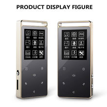 Original Touch Screen 8GB MP3 Player Bluetooth Pedo Meter HIFI Metal High Sound Quality Music Player Support TF Card FM E-book