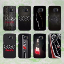 Cool Audi car design hard black phone Case Cover for samsung galaxy s8 s8 plus s7 s6 edge j3 j5 2016 j7 2016