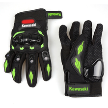 motorcycle gloves man woman protect hand full finger guantes For Kawasaki KX KLX KFX KDX 65 80 85 125 250 250F 450F 450R 150S