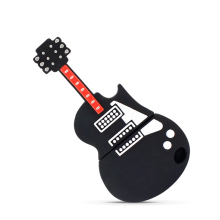 Free shipping guitar shape usb flash memory drive waterproof Pen drive 8GB 16GB 32GB 64GB genuine Wholesale plastic pendrive