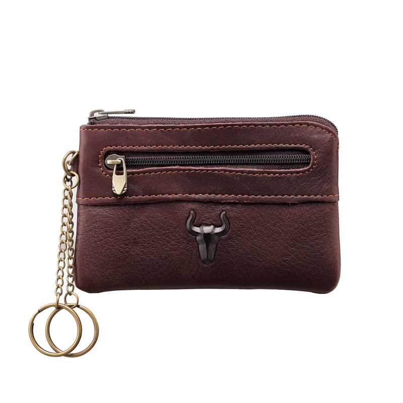European and American Style Mens Unisex Genuine Leather Gradient Fashion Casual Money Coin pocket Wallet Zipper Card Bag Q325<br><br>Aliexpress