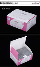 200Pcs/lot nail polish remover tissue wipe Nail Art gel Easy cleaner gel nail Wraps UV Gel Remover
