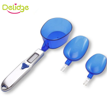 3 pcs/set Kitchen Measuring Spoon Electronic Digital Spoon Scale 300/0.1g Kitchen Scales Measuring Spoons Set(China)