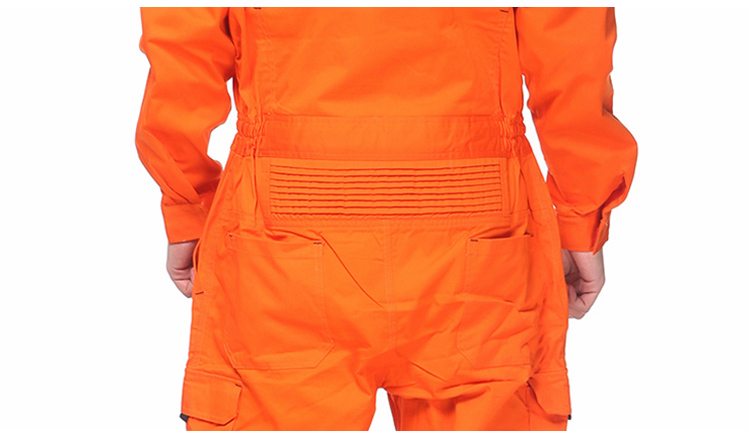 Work Overalls Long Sleeve Working Clothes Dustproof Auto repair Wear-resistant Coveralls Unisex Workwear Solid Color Uniforms (6)