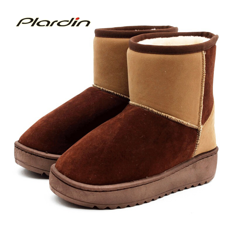 Wholesale High Quality Shoes Woman Snow Boots Warm Winter Boots Waterproof Genuine Leather Women Boots Ankle Boots FreeShipping<br><br>Aliexpress