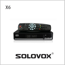 Genuine S-X6 Satellite Receiver/ TV Box Support 2 USB IPTV Card Sharing 3G modem Free Shipping