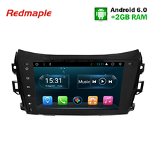 1Din Android Car Radio GPS Multimedia Stereo for Nissan Navara NP300 D23 2014 2015 2016 Auto Navigation Audio Player Headunit(China)