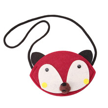 Cute Animal Shape Children Mini Bag Baby Cartoon Non-woven Handmade DIY Fabric Patches Kids Girl Small Bag 838739