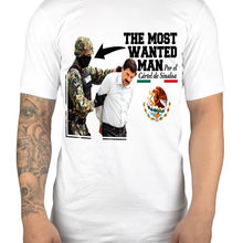 Самый Разыскиваемый человек El Chapo Graphic t-shirt Drug Lord Jaoquin Guzman Prison Cool casual pride t shirt men Unisex New Fashion(China)