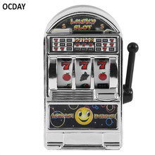 OCDAY Children' s Slot Machine Mini Toy Lucky Jackpot For Fun Birthday Gift Kids Safe New Style Healthy Design New sale