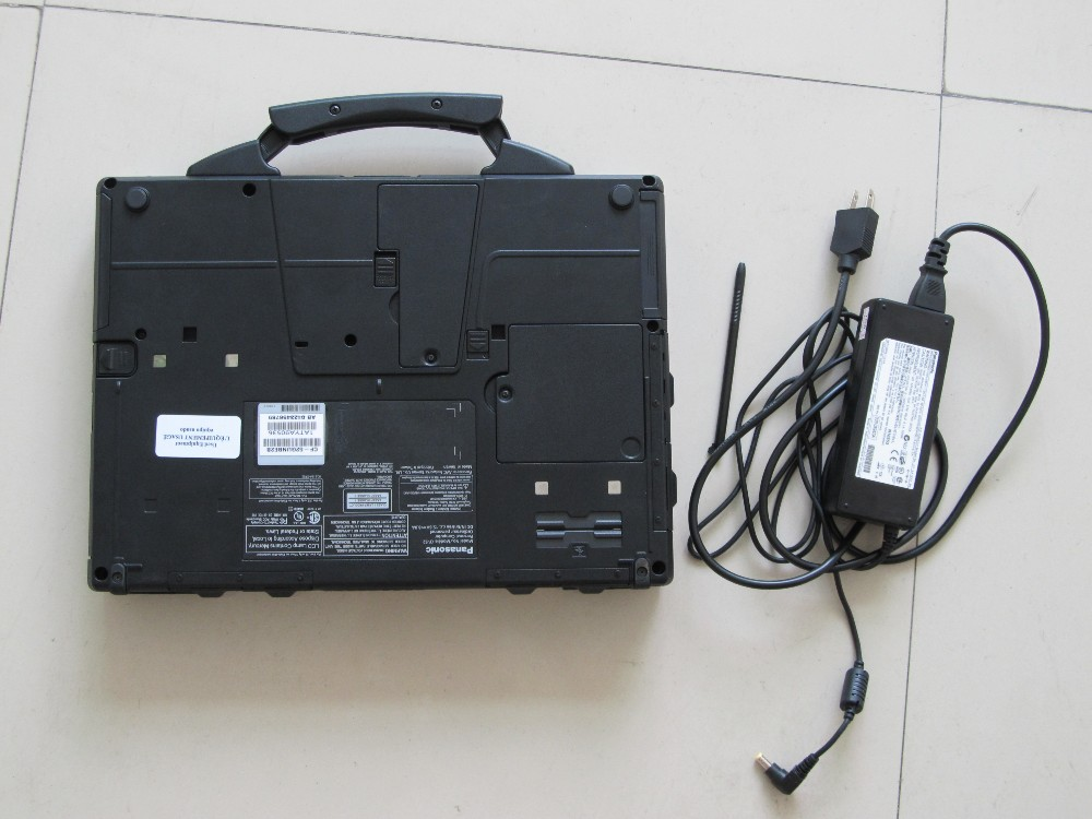 Free shipping For Panasonic CF-52 Military Toughbook Laptop CF52 Diagnosis Laptop can work for bmw icom a2 and mb star c3 c4c5-7