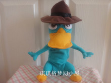 Original Phineas and Ferb Perry the Platypus Plush Toy 25cm C5ute Stuffed Animals Kids Toys for Children Christmas Gifts