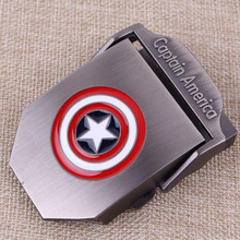 8 style Captain America batman automatic belt buckle No body High quality alloy material Suitable width 3.8CM Designers Fashion