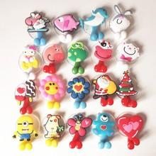 Multifunctional Cute Cartoon Animal suction cup Toothbrush Holder Hooks Bathroom Accessories 24 Colors(China)
