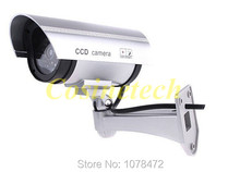 Realistic looking Dummy camera,surveillance IR fake camera,Wonderful Outdoor Indoor Fake security Camera withNight CAM LED Lig(China)