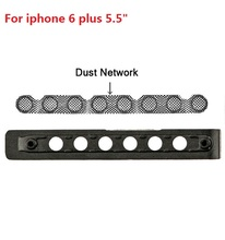 "5set/lot best quality Bottom speaker dust network + plastic frame for iPhone 6 plus 5.5"" Replacement parts"
