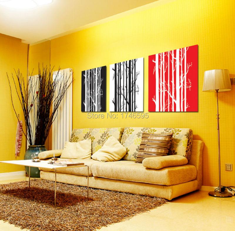Beautiful Red Wall Art Decor Ideas - Wall Art Design ...