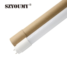 SZYOUMY PVC Plastic 18W LED Tube T8 Light  100-260V 120cm LED T8 Lamp Led Wall Lamp Cold White Led Fluorescent T8 Neon Tube 4ft