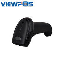 Barcode Scanner 1D 2D Scan Handheld Supports Multiple Interfaces RS232 USB KB (Keyboard jack) For Supermarket(China)
