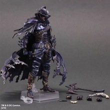 XINDUPLAN DC Comics Play Arts Kai Justice League Movie Batman Cowboy Limited Edition Action Figure Toys 28cm Kids Model 0286(China)