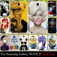 For Samsung Note 2 Case Protective Mobile Case Accesary For Cellular Phone Breaking Bad Marilyn Monroe Shipping Free