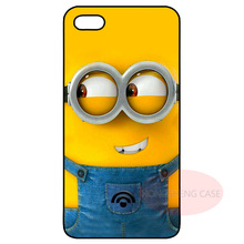 Lovely Minions Cover Case for LG iPhone 4 4S 5 5S 5C 6 6S 7 Plus iPod Samsung Galaxy Note 2 3 4 5 S3 S4 S5 Mini S6 S7 Edge Plus