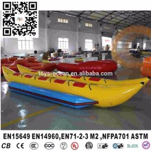 2016 Funny Inflatable Water Games Flyfish Banana Boat For Sale(China)
