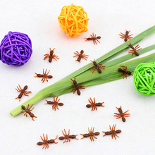 Newly 10PCS Ant Prank Funny Trick Joke Special Lifelike Model Fake Ant Toy Event Party Supplies Wholesale Halloween Xmas Gift