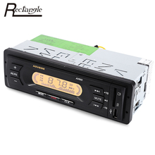 Rectangle AV65D 1 Din Car Radio Auto Audio Stereo Player LCD Display FM Automatic Scanning Auto Audio Radio Player For Car
