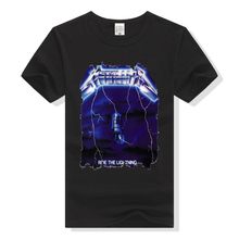 Metallica T Shirt Ride The Lightning Rock Band Tee Shirt Men Women Unisex T-Shirt Cotton Tshirt Music Clothing Plus Size