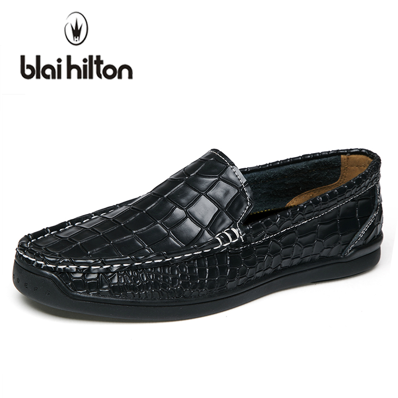 blaibilton 2018 Summer Loafers Men Casual Shoes Sneakers Genuine Leather Slip On Luxury Fashion Male Moccasins Driving Footwear<br>
