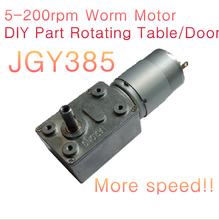 Electric micro dc motor/ JGY385 24v 5RPM~200 RPM high torque worm gearing dc geared motor with speed reducer 24v200rpm orOTHER