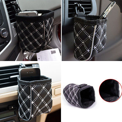 Fshion Auto Car Storage Bags Pouch Mobile Phone Pocket Bag Organizer Holder Accessory