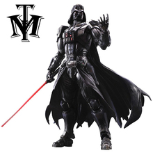 Anime Movie star wars darth vader Action Figure Movable joints Playarts Kai figurine hot Toys Model Play arts Kai dolls juguetes(China)