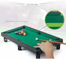 Children Billiard table 48*6*34 cm Boxed Mini Snooker Table Game(China)