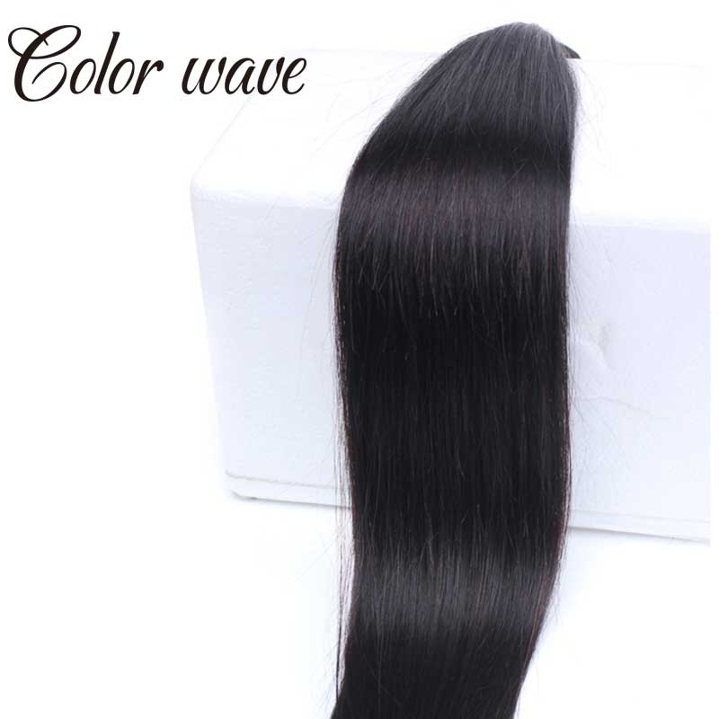Color Wave Indian Virgin Hair Straight 100g One Bundle Indian Human Hair Wet And Wavy Weave Hair Indian Straight Hair Extensions<br><br>Aliexpress