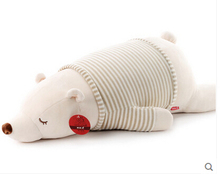 2016 New Polar bear plush toy doll pillow girls Large dolls birthday gift panda doll