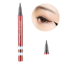 High Quality Natural Liquid Eyeliner Pen Magic Makeup Beauty Cosmetic Black Smooth Waterproof Long Lasting Single Color(China)